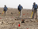 image of land mine clearing in Kurdistan
