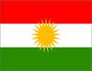 image of flag of Kurdistan