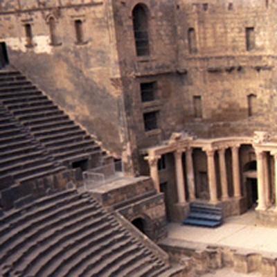 Roman ampitheatre - Bosra, Syria