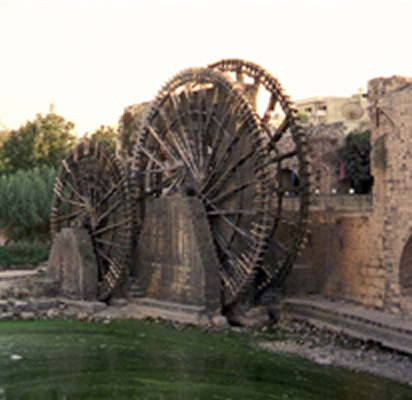 Waterwheels - Hama, Syria