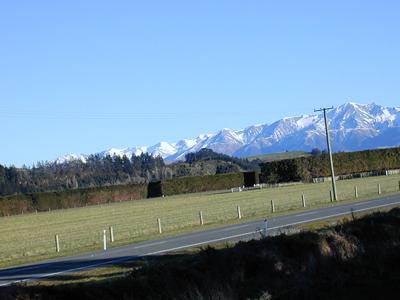 Big hills - near Christchurch, New Zealand