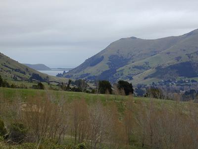 More big hills - near Christchurch, New Zealand