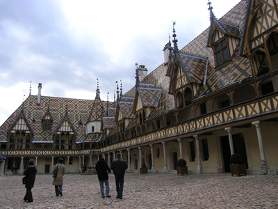 Check out that roof! Hospice de Beaune - Beaune, France