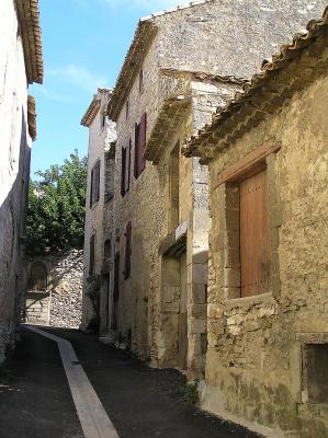 Village of Tavel - near Avignon, France