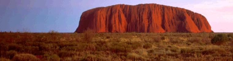 Site banner :: image of Uluru (Ayers Rock), Australia