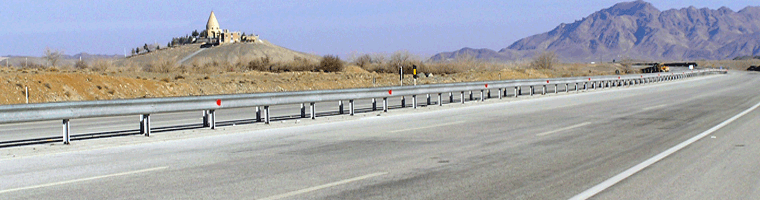 Site banner :: image of freeway, Iran