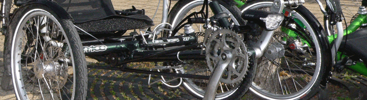 Site banner :: image of recumbent trikes from Wikipedia