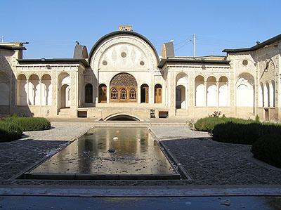 Traditional house (Khan-e Abbasin?)   - Kashan, Iran