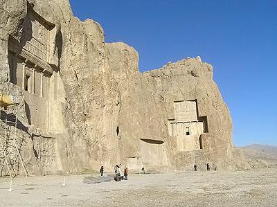 Rock tombs  - Naqsh-e Rostam,  Iran