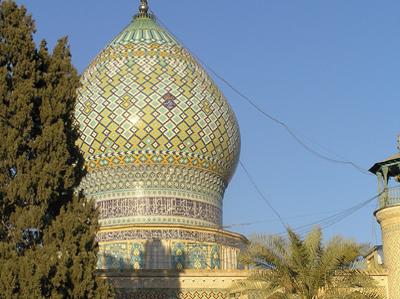 Detail of Masjed   -  Shiraz,  Iran