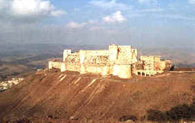 Qala'at al-Hosn  (also known as Krak des Chevaliers)  - near Homs, Syria