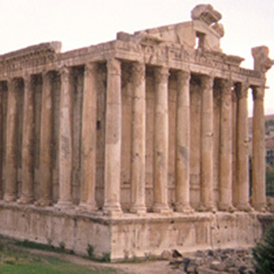 Roman temple - Baalbek, Lebanon