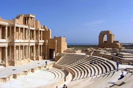 Roman theatre - Sabratha, Libya
