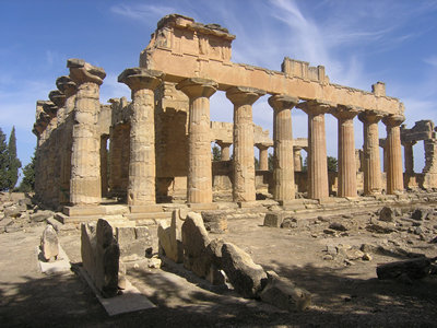 Greek temple - Sabratha, Libya