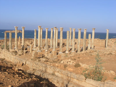 Greek temple - Apollonia, Libya