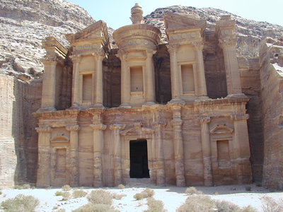 The Monastery: it's worth the long climb -  Petra, Jordan