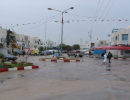 Raining in Nabeul