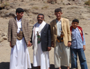 image of Yemeni villagers