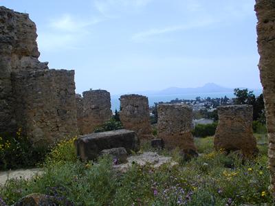 Roman baths at Carthage - Tunis, Tunisia