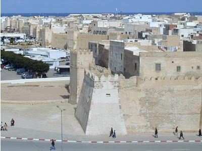 Medina walls - Sfax, Tunisia