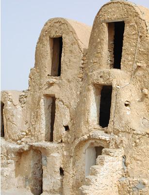 Ksour at Metameur - near Medenine, Tunisia