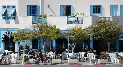 Café at Sidi Bou Said - Tunis, Tunisia