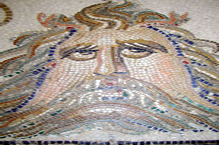 Roman mosaic - El Jem, Tunisia